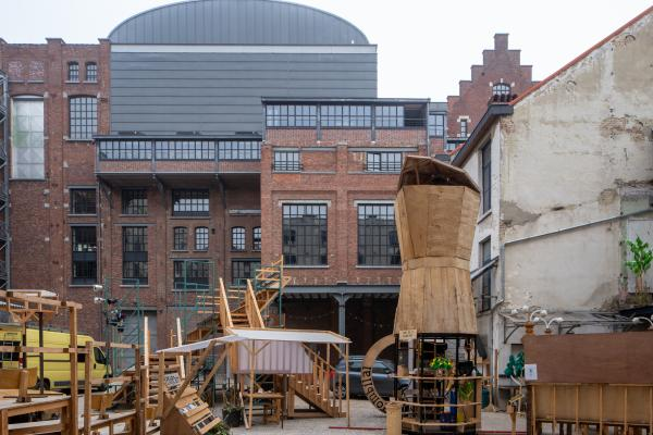 Recyclart sur le site Manchester