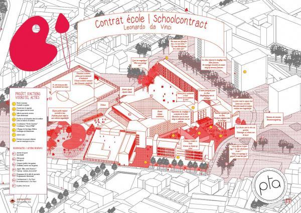Affiche du Contrat école - Léonardo Da Vinci (Contrats Ecoles en cours)