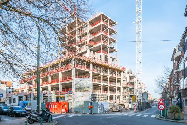 Het oude Edith Cavell-ziekenhuis in Ukkel maakt plaats voor 145 woningen,