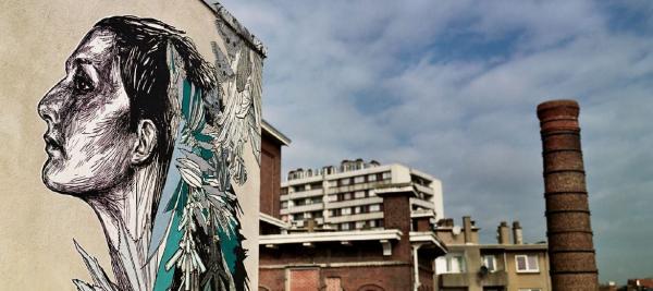 Graffiti terras Mima