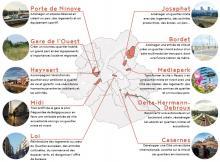 Dix quartiers stratégiques