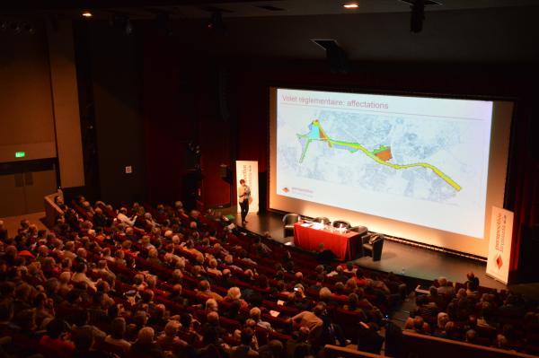 Réunion publique Delta-Herrmann-Debroux à Auderghem