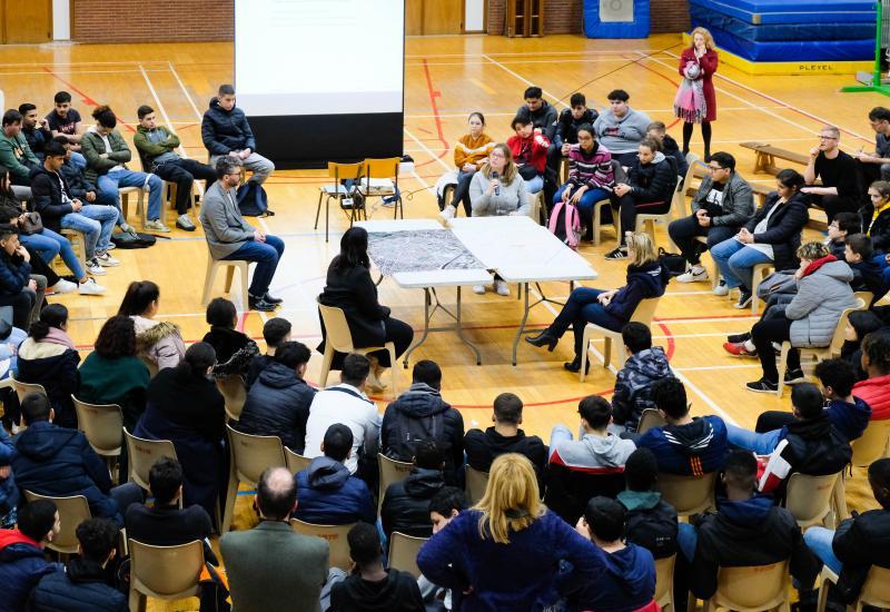 Discussieforum - Institut communal Marius Renard – Anderlecht