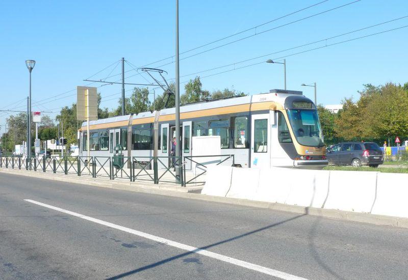 NAVO/Defensie site - Tram